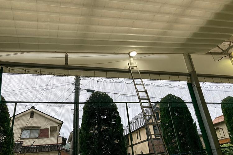 ノアインドアステージ姫路校 LED照明工事