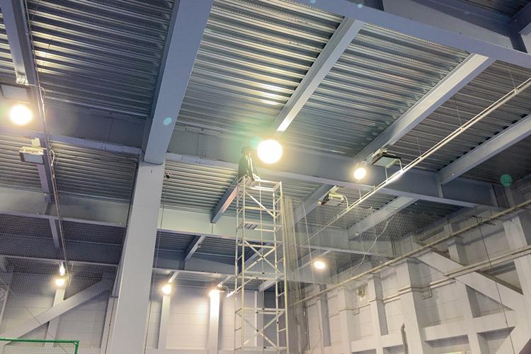 ノアインドアステージ国分寺校 LED照明工事