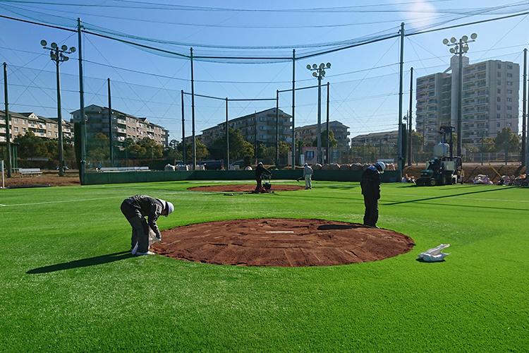 帝京平成大学ちはら台野球場