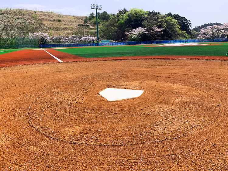 東京学館高等学校 野球グラウンド アンツーカ工事